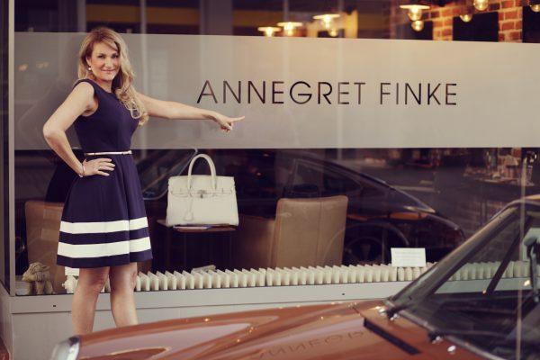 Friseurin Annegret Finke und Best Ager Modell und Bloggerin Petra Drißen