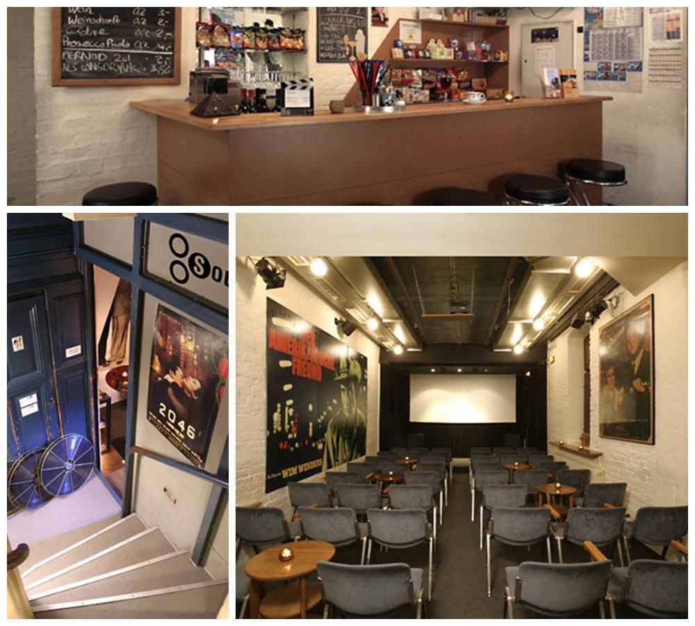 Ausgehen ins Kino im Café Muggel