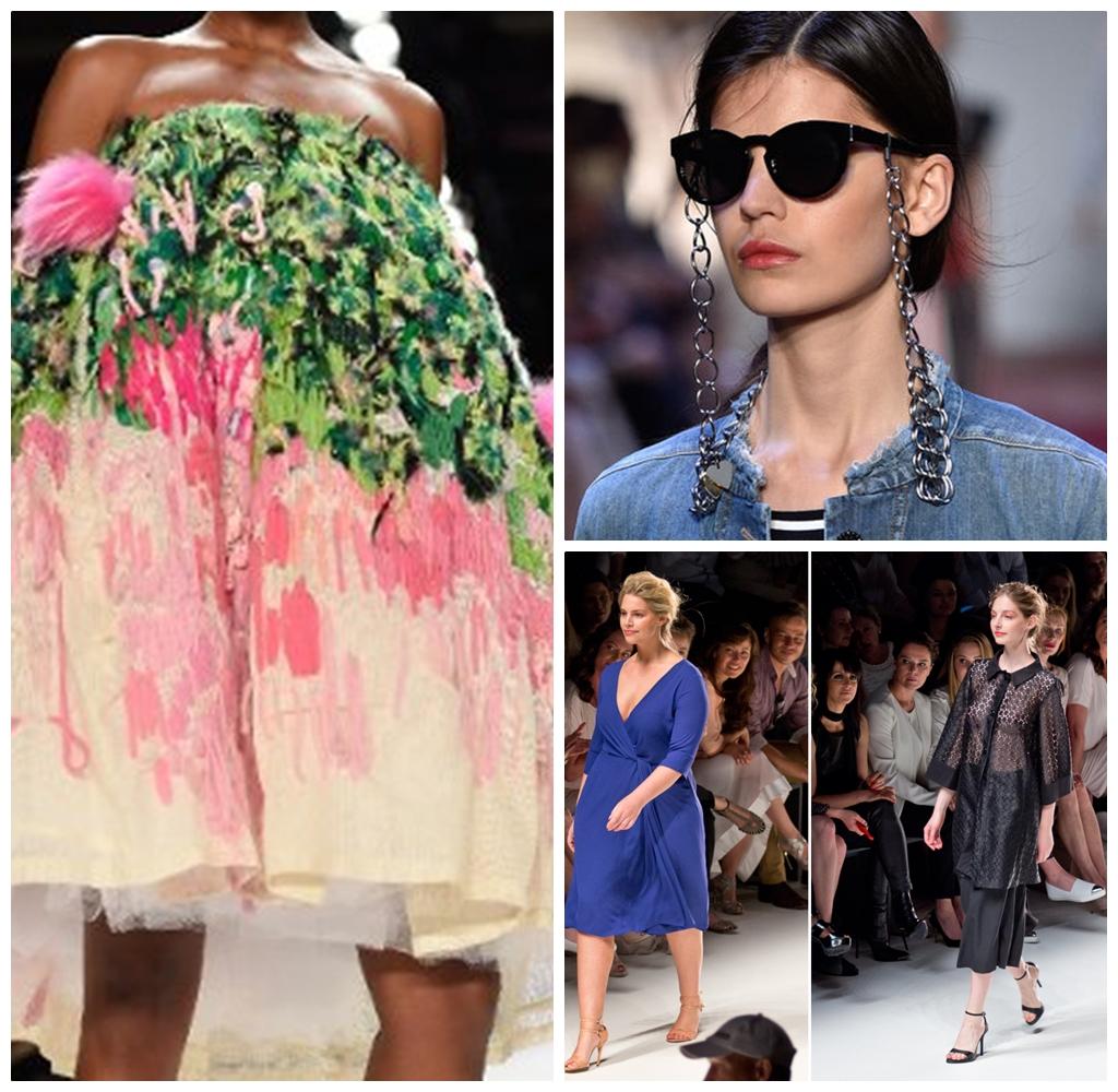 Die unterschiedlichsten Models waren dieses Mal auf der Fashion Week zu sehen. Von size zero bis plus size