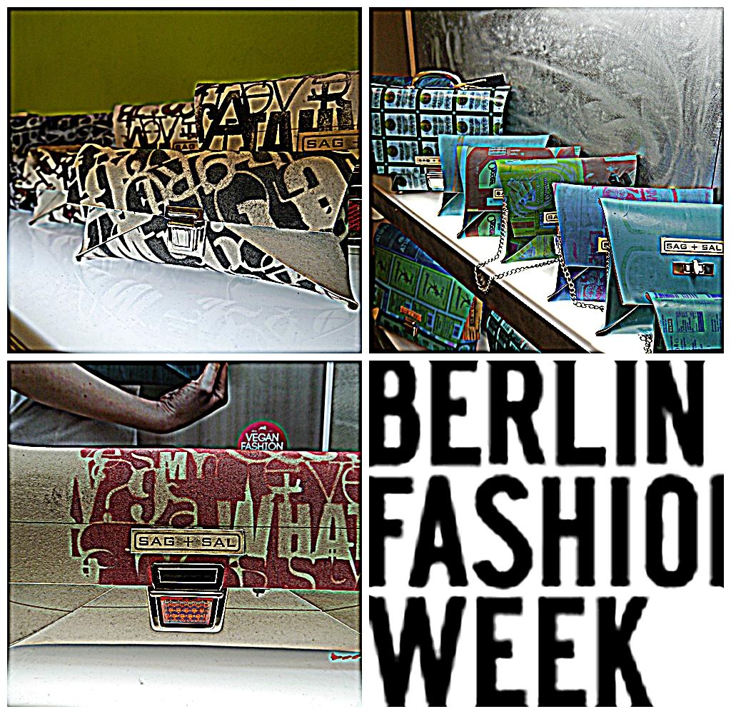 Ausgefallene Tasche nachhaltig produziert, präsentiert im kultpur bei Johanna Groß