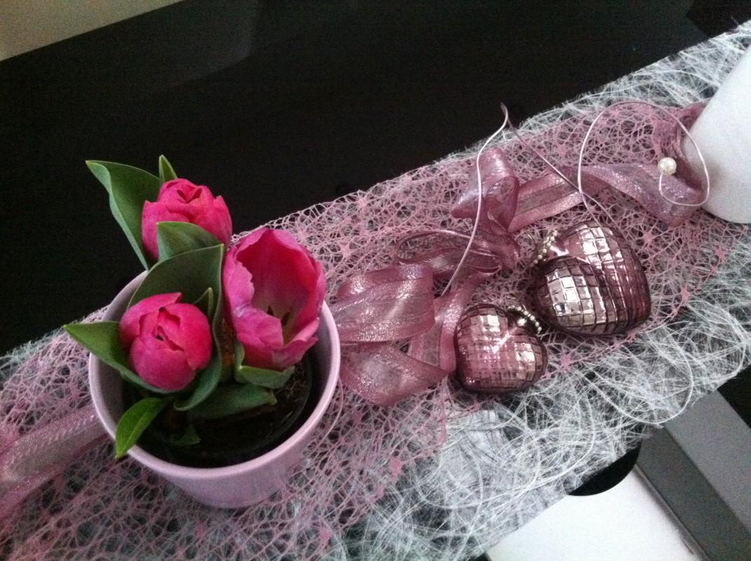 Fruhlings Tischdeko Bei Mir Zuhause Beste Best Ager 50plus
