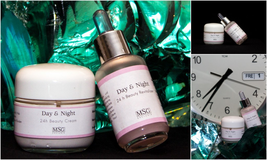 24 Stunden Creme Day & Night 24h Beauty Cream mit dem Day & Night 24h Beauty Revitalizer,