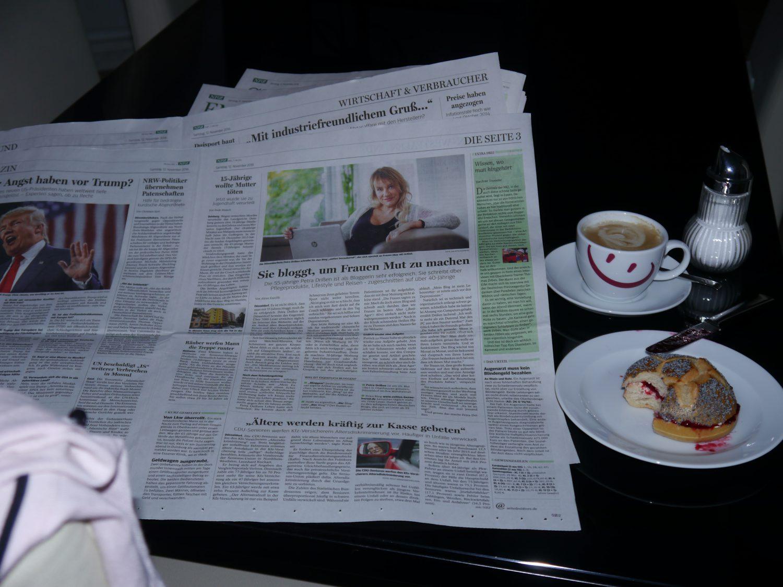 Lebensratgeber Zeitungsinterview für die NRZ