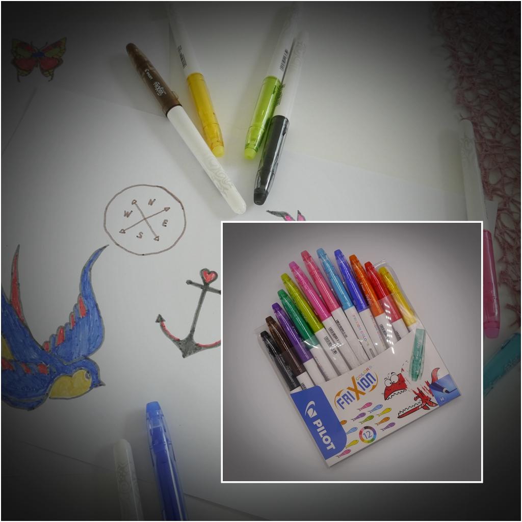 Pilot Pen Stifte FriXion Colors