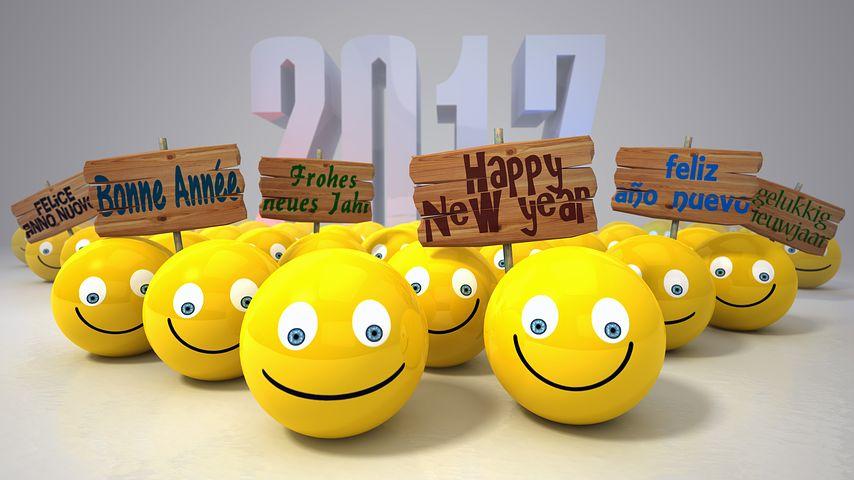 Ein frohes und glückliches neues Jahr 2017