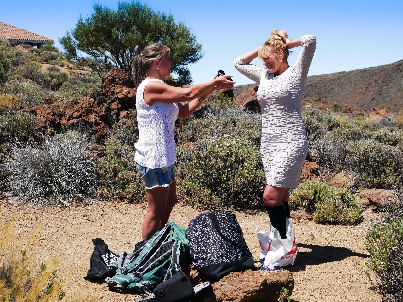 Fotoshooting auf Teneriffa mit zeitlos bezaubernd Best Ager Model