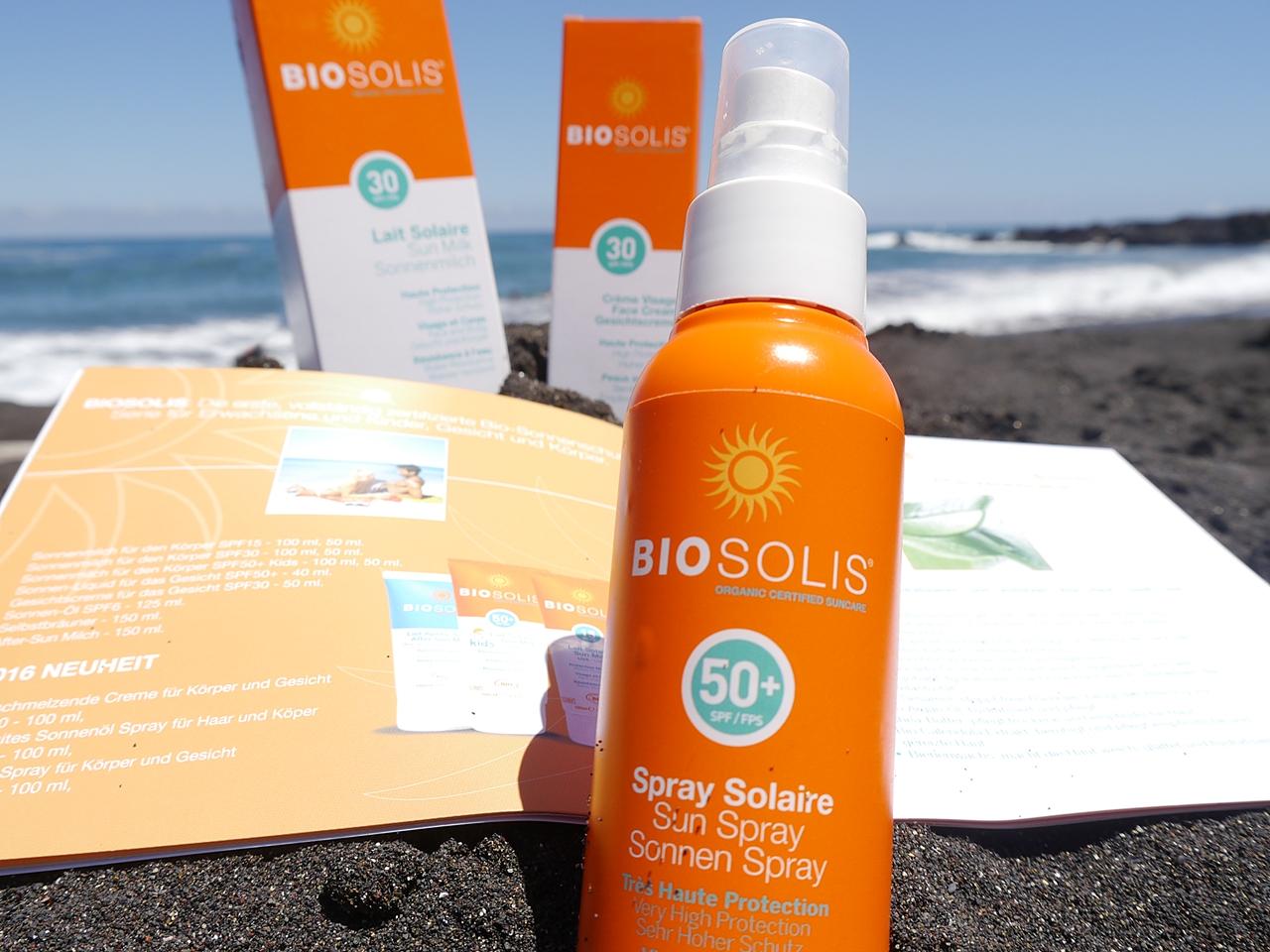 BIOSOLIS Sonnenschutz im Test bei zeitlos bezaubernd