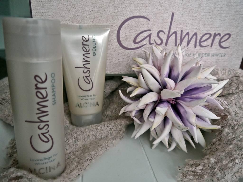 Alcina Cashmere-Luxuspflegeserie Shampoo und Spülung bei zeitlos bezaubernd
