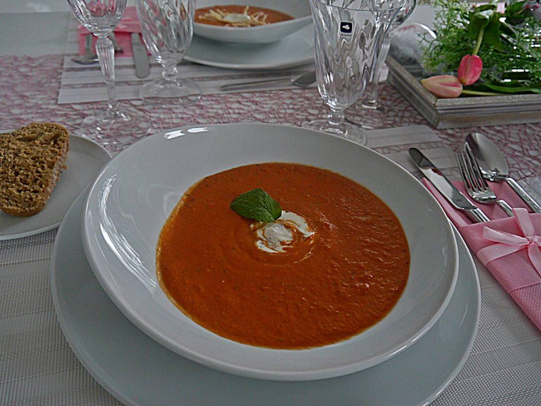 Tomaten Suppe bei Zeitlos Bezaubernd