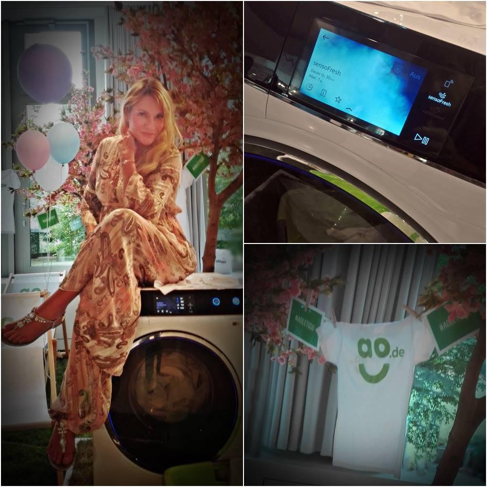 Siemens Waschmaschine bei ao.de in der Hashmag Blogger Lounge